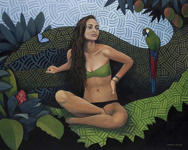 Natural Beauty Print by Nathan Miller