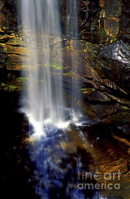 Natures Shower Stall Print by Paul W Faust -  Impressions of Light
