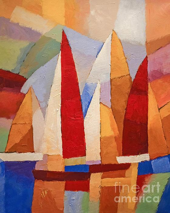 Navigare Print by Lutz Baar