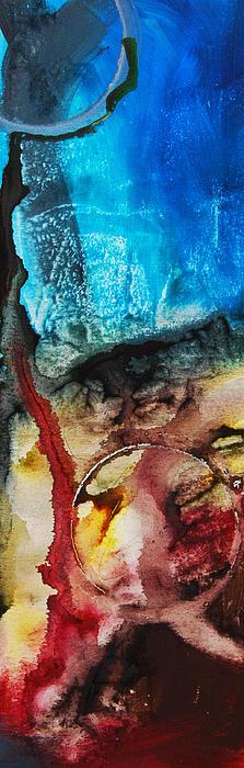 Nebulae 2  Print by Andrada Anghel