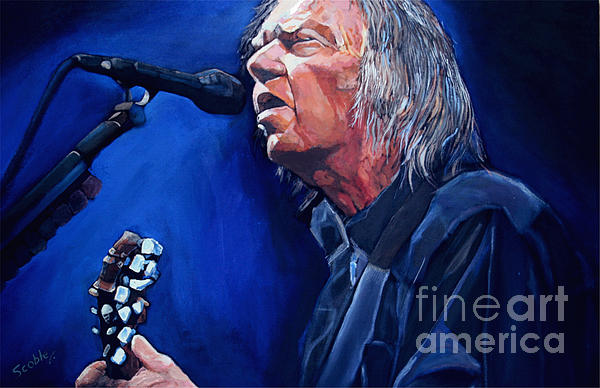 Neil Young Painting