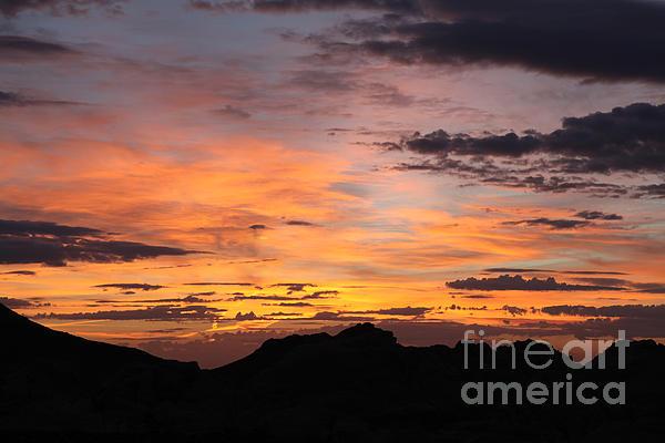 Nevada Sunrise Print by Trekkerimages Photography
