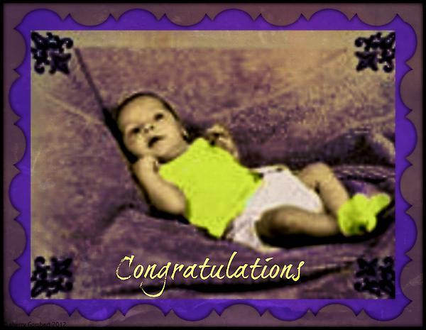 Sherry Gombert - New Born Baby