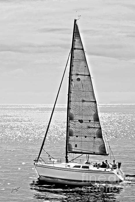 New Dawn - Sailing Into Calm Waters Print by Artist and Photographer Laura Wrede