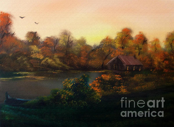 New Day In Autumn Sold Print by Cynthia Adams