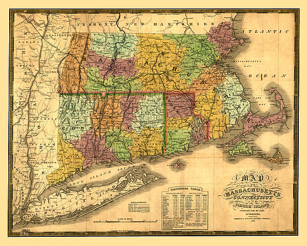 New England Print by Gary Grayson