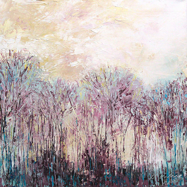 New England Landscape No.100 Print by Sumiyo Toribe