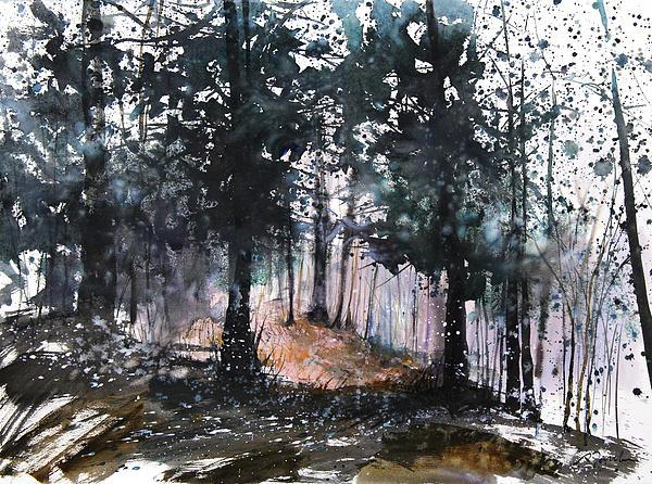 New England Landscape No.214 Print by Sumiyo Toribe