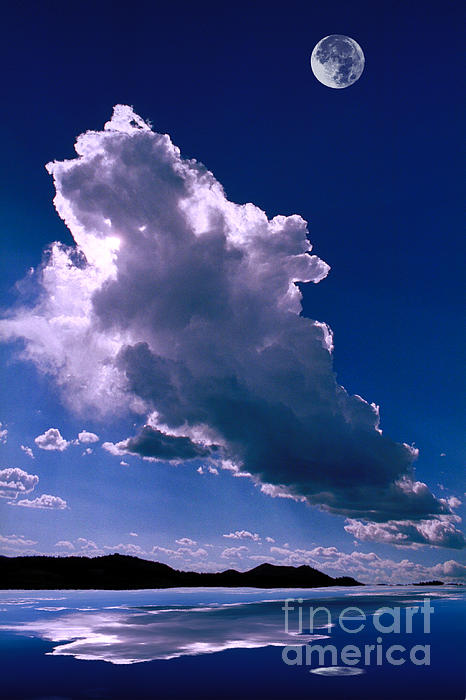 New Mexico Sky Print by Jerry McElroy