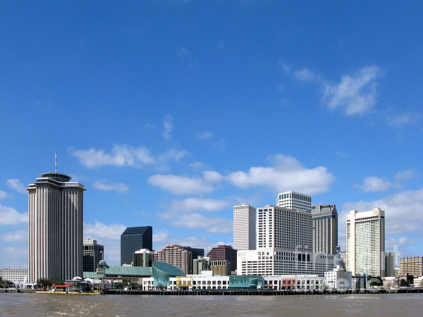 New Orleans Louisiana Print by Olivier Le Queinec