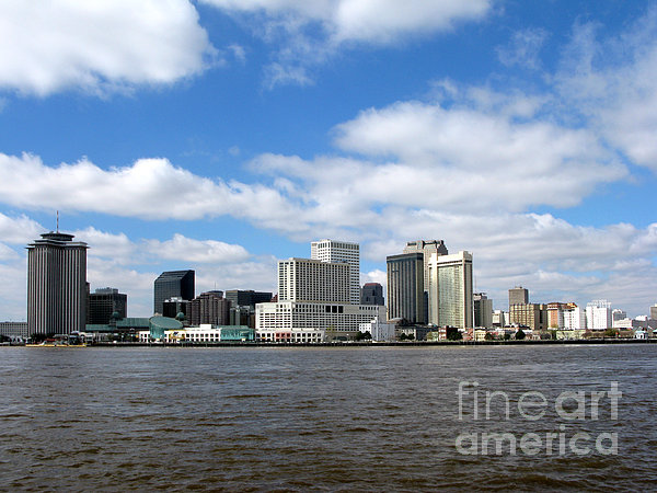 New Orleans Print by Olivier Le Queinec