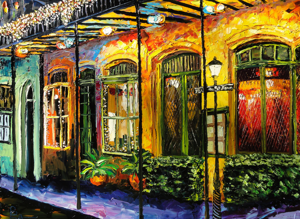 Beata Sasik - New Orleans Original Painting
