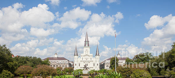 New Orleans Panorama Print by Kay Pickens