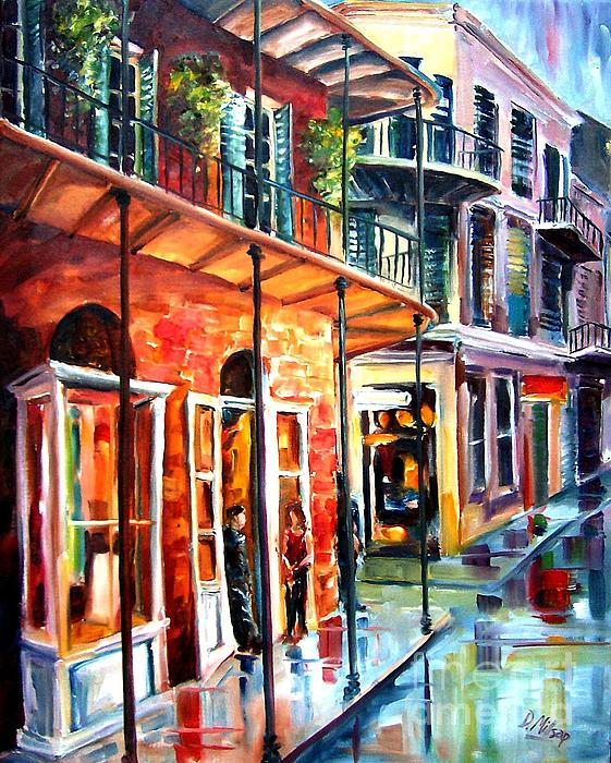 New Orleans Rainy Day Print by Diane Millsap
