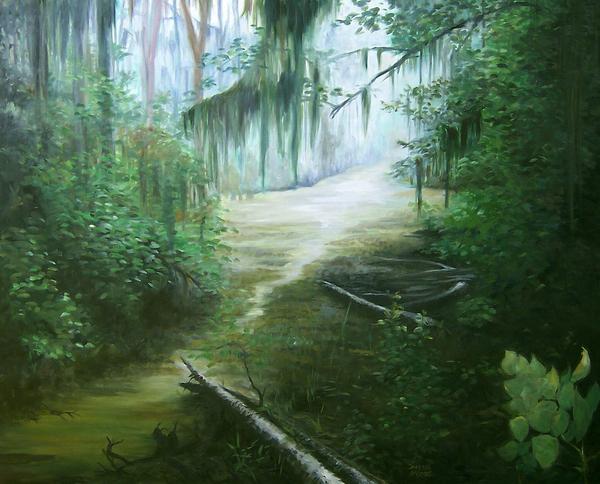 New Orleans Swamp Print by Susan Moore
