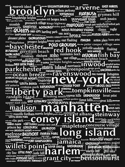 New York 20130709bw Print by Wingsdomain Art and Photography