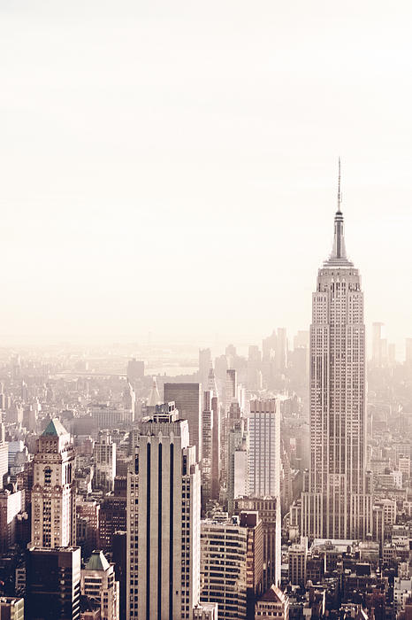 New York City - Empire State Building Print by Vivienne Gucwa
