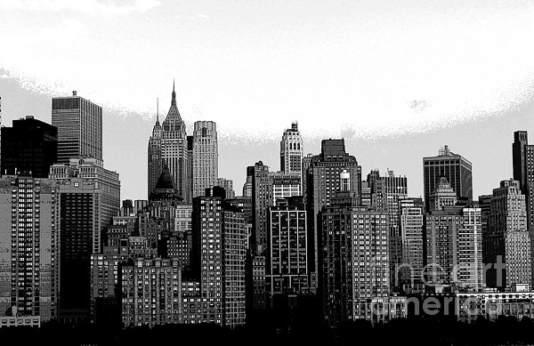 New York City Print by Kathleen Struckle