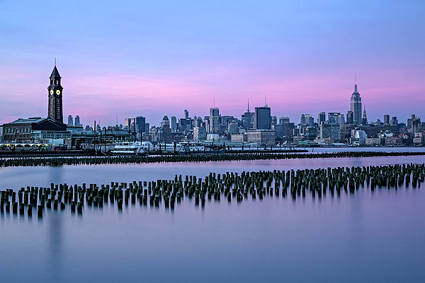 Susan Candelario - New York City Skyline Stillness
