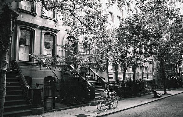New York City - Summer - West Village Street Print by Vivienne Gucwa
