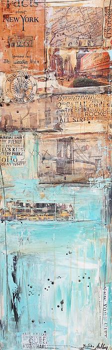 New York Print by Jolina Anthony