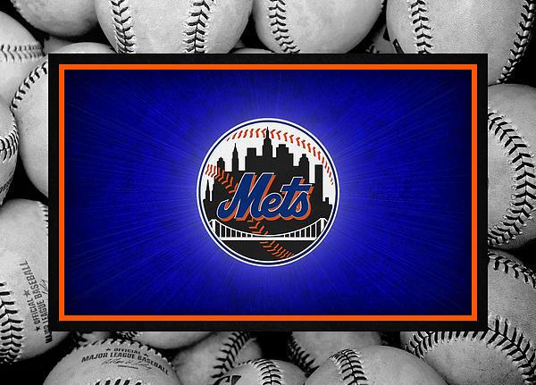 New York Mets Print by Joe Hamilton