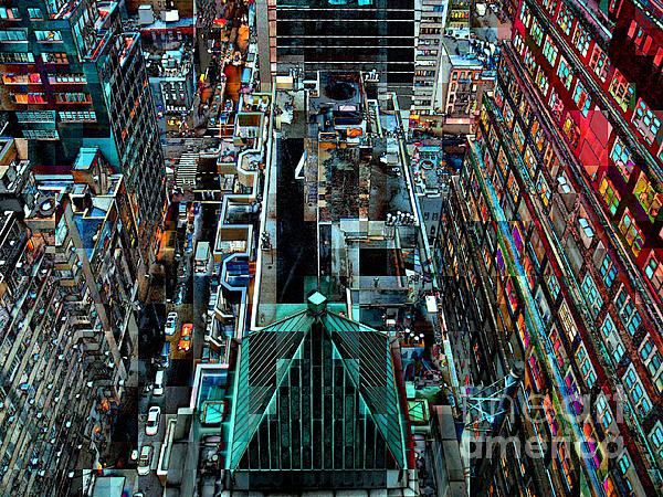 Miriam Danar - New York Seen From Above - Midtown Manhattan