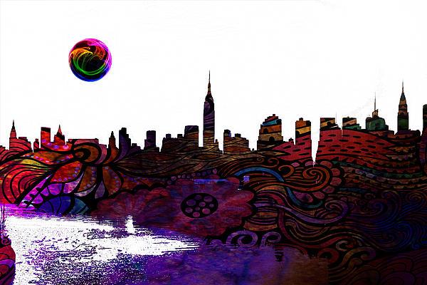 Celestial Images - New York Skyline