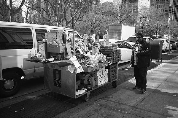 New York Street Photography 5 Print by Frank Romeo