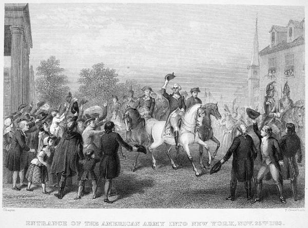 New York: Washington, 1783 Print by Granger