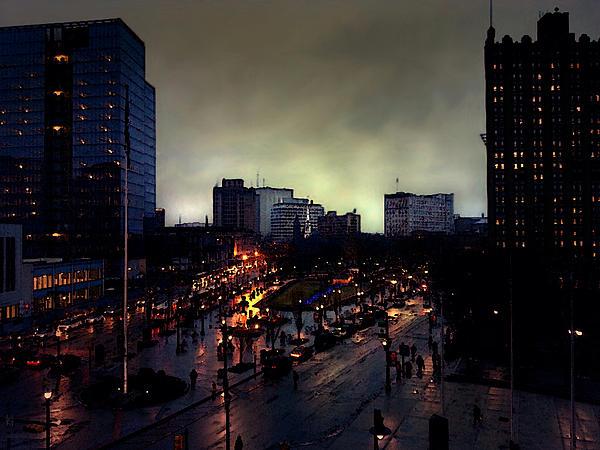 Nina Fosdick - Newark NJ cityscape