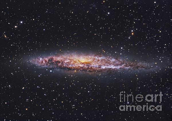 Ngc 4945, Starburst Galaxy In Centaurus Print by Robert Gendler