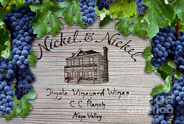 nickel and nickel winery by jon neidert. Black Bedroom Furniture Sets. Home Design Ideas