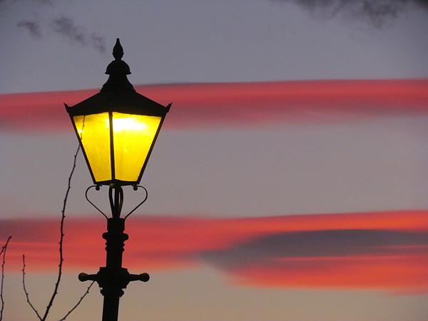 Joyce Woodhouse - Night Light Sky