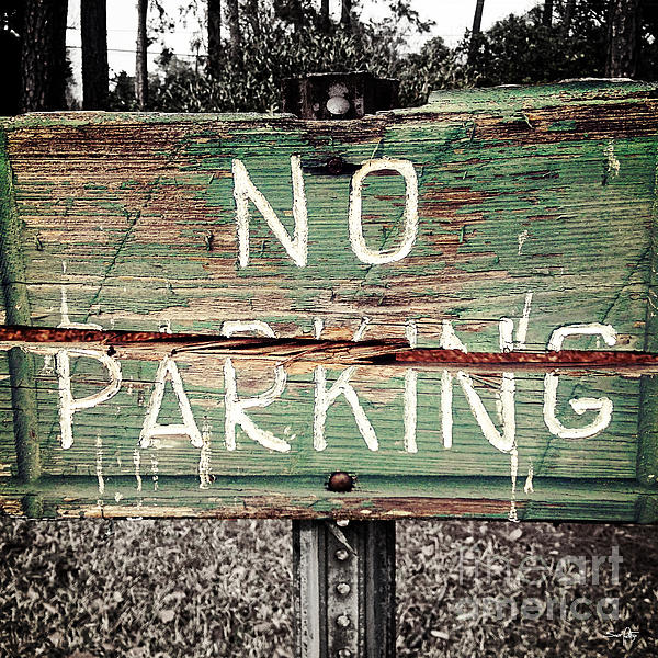 No Parking Print by Scott Pellegrin