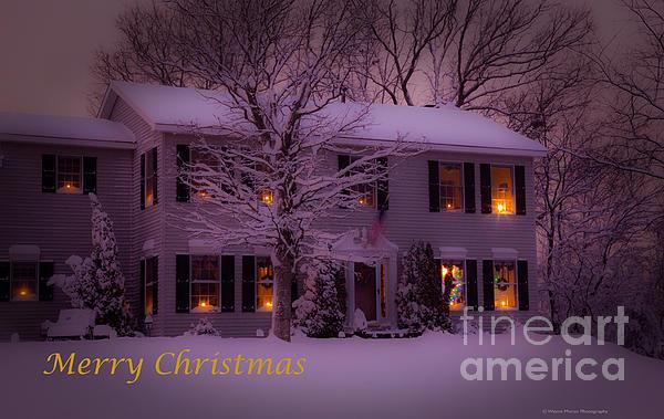 Wayne Moran - No Place Like Home Christmas Card
