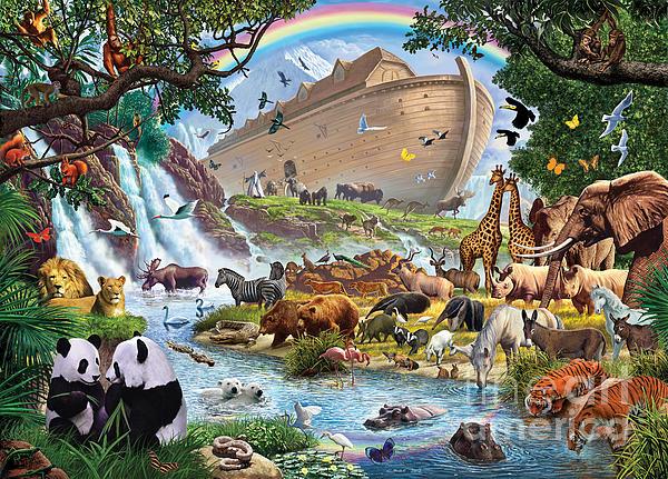 Noahs Ark - The Homecoming Print by Steve Crisp