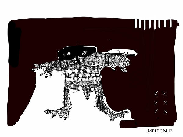 Noctis No. 2 Print by Mark M  Mellon