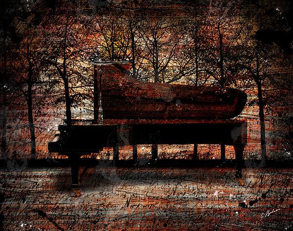 Nocturne I Print by Gary Bodnar