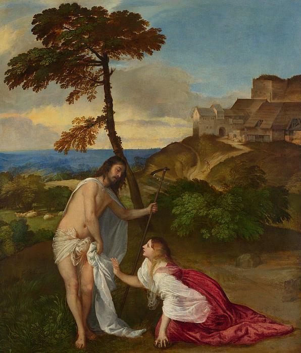 Noli Me Tangere Print by Titian