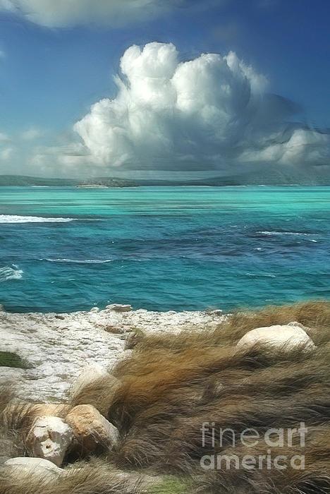 Nonsuch Bay Antigua Print by John Edwards