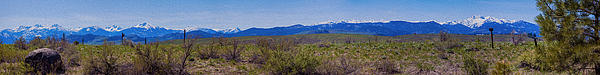 North Cascades Game Range Panorama Print by Omaste Witkowski