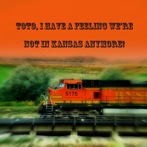Cindy Wright - Not in Kansas Anymore Train