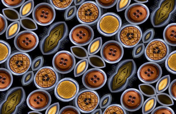 Not Your Mothers Button Box Print by Jean Noren