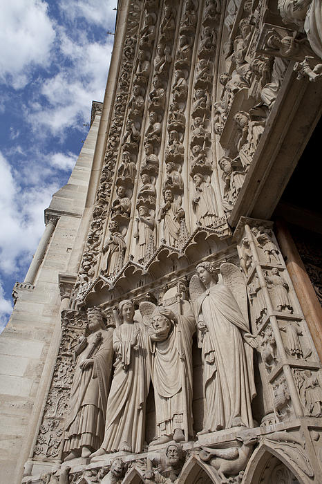 Notre Dame 3 Print by Art Ferrier