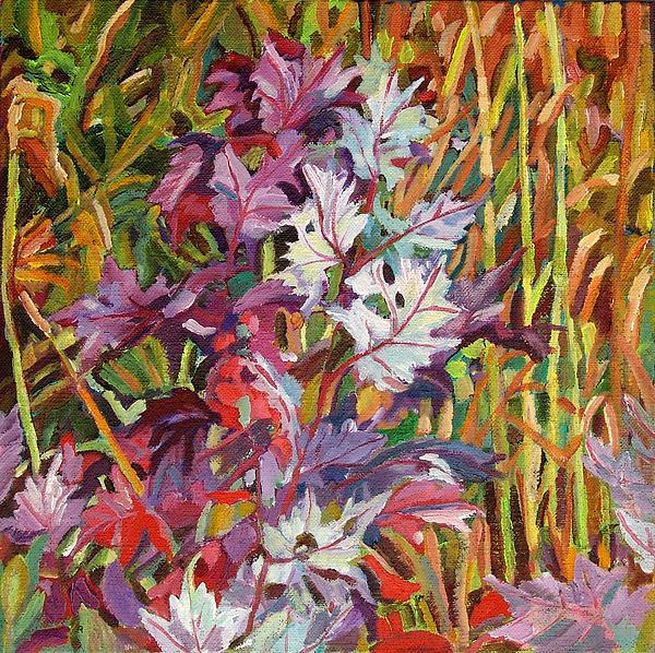 Nova Scotia Autumn Print by Janet Ashworth