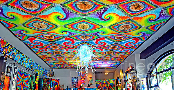 Now That's A Ceiling Print by Jim Fitzpatrick