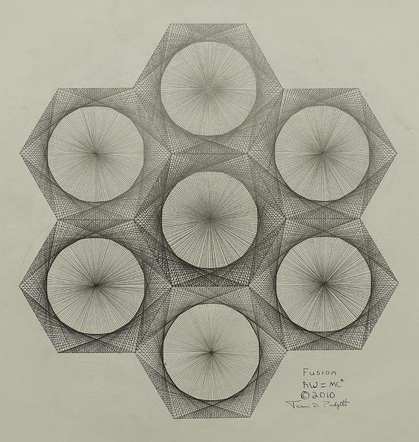 Nuclear Fusion Print by Jason Padgett