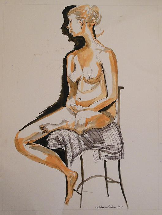 Esther Newman-Cohen - Nude with Shadow