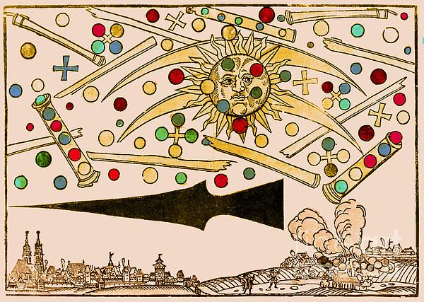 Nuremberg Ufo 1561 Print by Science Source